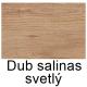 Dub salinas svetlý
